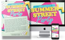 Summer Street Party event pack