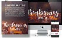 Thanksgiving Advertising Pack