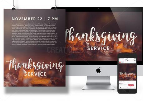 Thanksgiving Advertising Pack (69010)