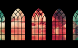 Church Windows And Clouds (69263)