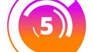 Neon Circle Countdown 1