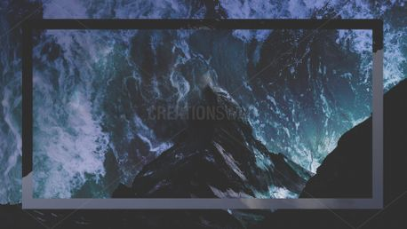 Mountain Waves Background (69327)