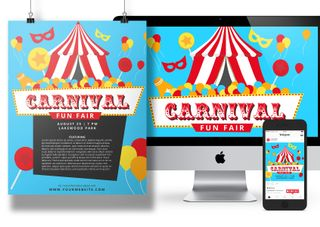 Carnival Fun Fair event pack