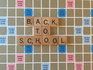 Back To School Scrabble Words