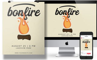 Bonfire Event pack