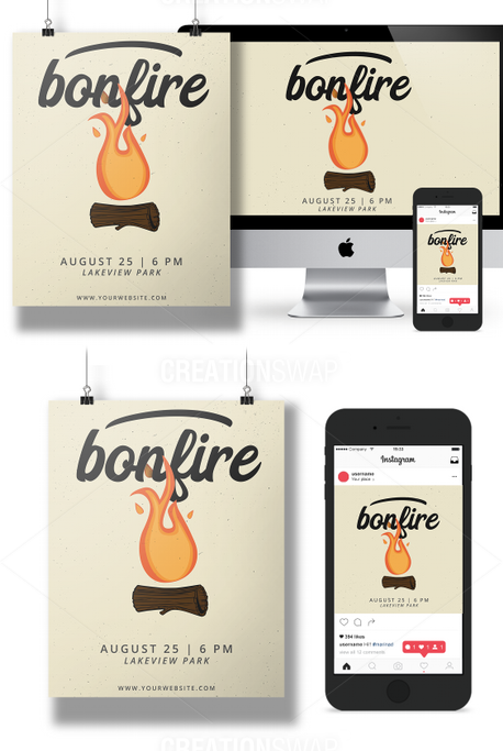 Bonfire Event pack (69995)