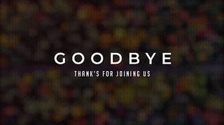 Bokeh Goodbye