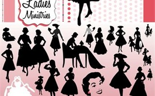 Ladies Ministry Silhouettes