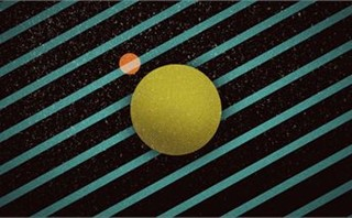 Space graphic slide