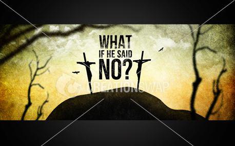 WHAT IF HE SAID NO?  (7753)