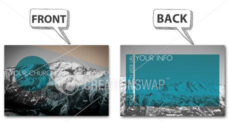 mountain postcard (7865)