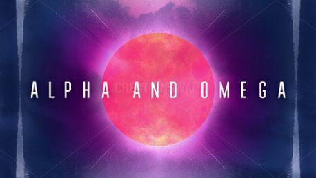 Alpha and Omega slide (70181)