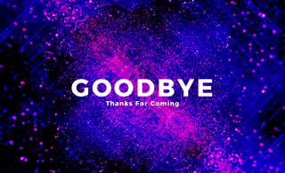 Goodbye Motion Title