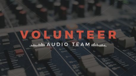 Audio Volunteer Bundle (70257)