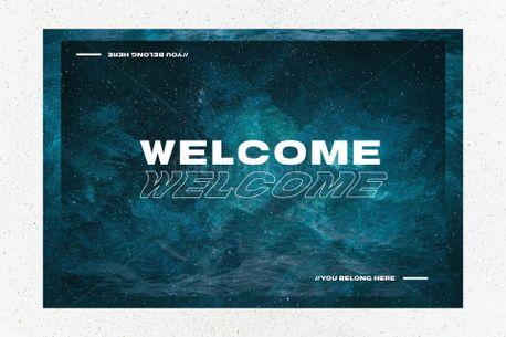 Modern Welcome  (70278)