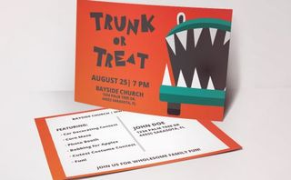 Trunk Or Treat Invites