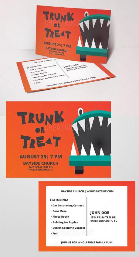 Trunk Or Treat Invites (70301)