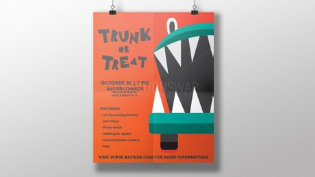 Trunk Or Treat Poster (70310)