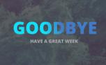 Goodbye  Animated Water Title (70402)