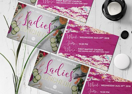 Ladies Luncheon Invitation (70497)