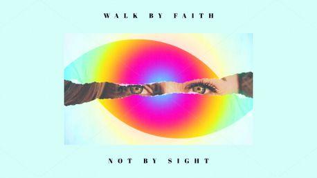 Walk by faith (70588)