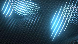 Light Grids v01 Blue