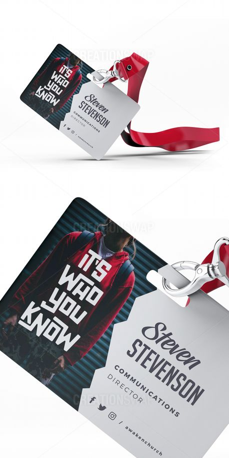 It's Who You Know Lanyard (70974)