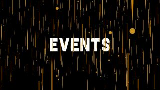3D Events Graphics Background