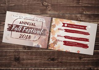 Fall Festival Invitation