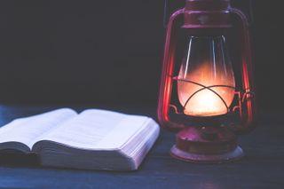 Lantern & Bible