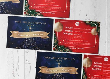 Christmas Concert Invitation  (71347)