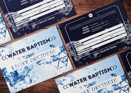 Water Baptism Sign-up (71461)