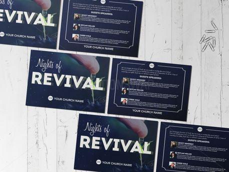 Nights of Revival Invitation (71661)