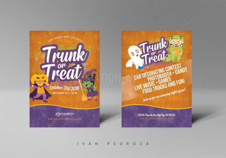 Trunk and Treat Flyer (71791)