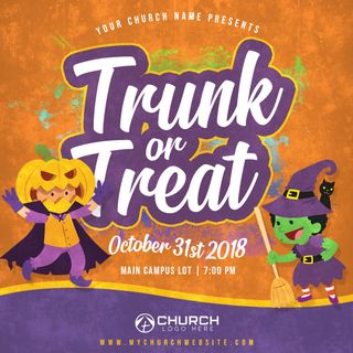 Trunk or Treat Social