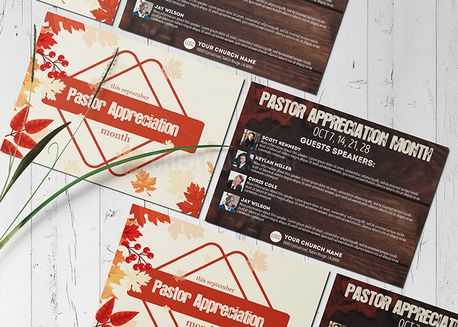 Pastor Appreciation Month/Day (71889)