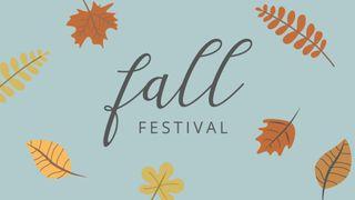 Fall Festival Slide