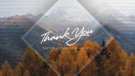 Pastor Appreciation Month (72533)