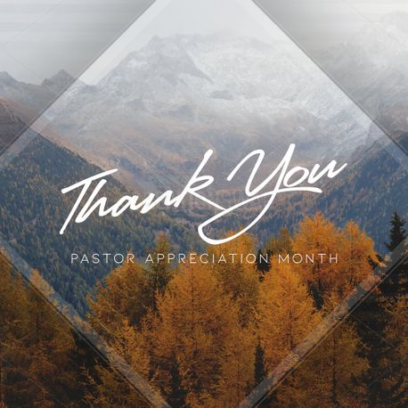 Pastor Appreciation Month SM (72535)