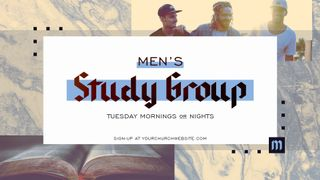 Men's Study Group