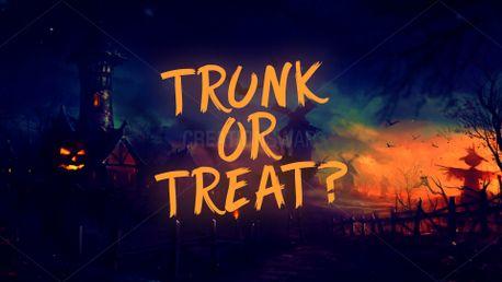 Trunk or Treat Halloween slide (72743)