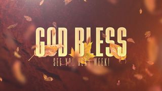 Thankful Fall (God Bless)