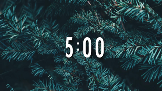 5 Minute Christmas Countdown