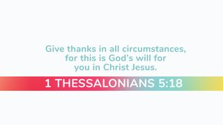 #Thankful Scripture Motion