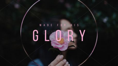 Made for His glory (72981)