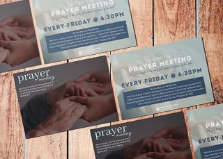 Prayer Meeting Invitation