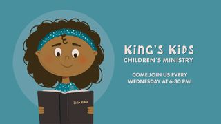 Kids Ministry Announcements