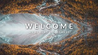 Fall Mountain Welcome