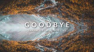 Fall Mountain Goodbye