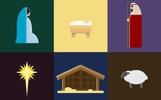 Nativity Vector Set